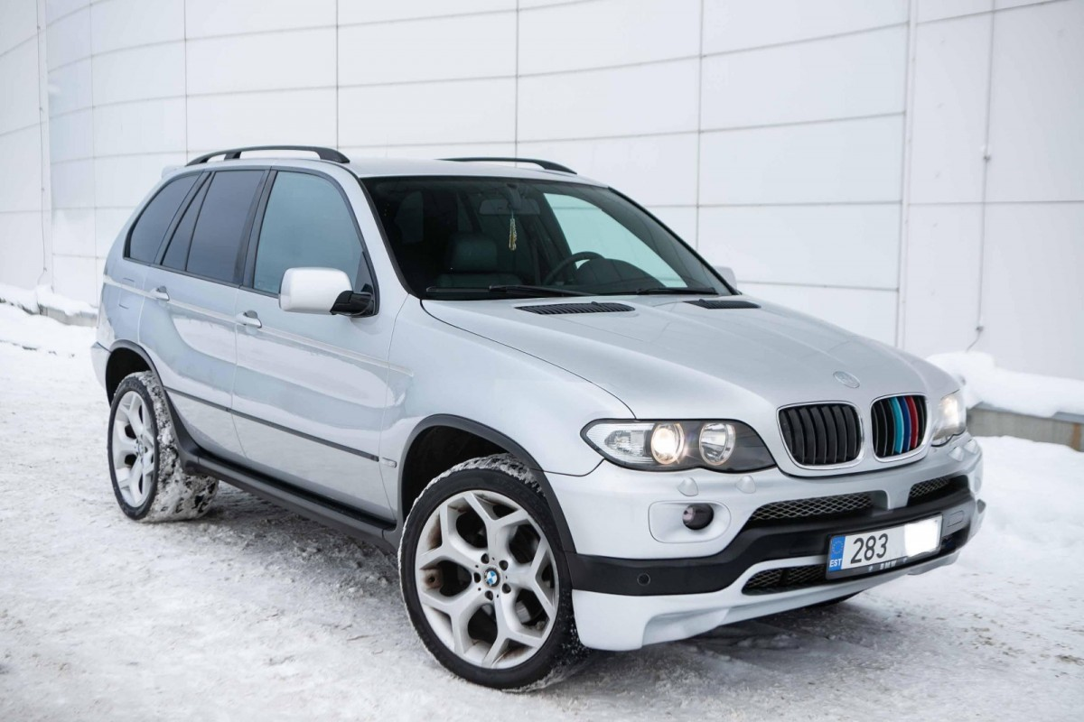 BMW X5 IS-Sportpaket - Photo